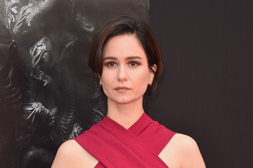 Katherine Waterston Sir Ridley Scott Celebrates His Hand and Footprint Ceremony