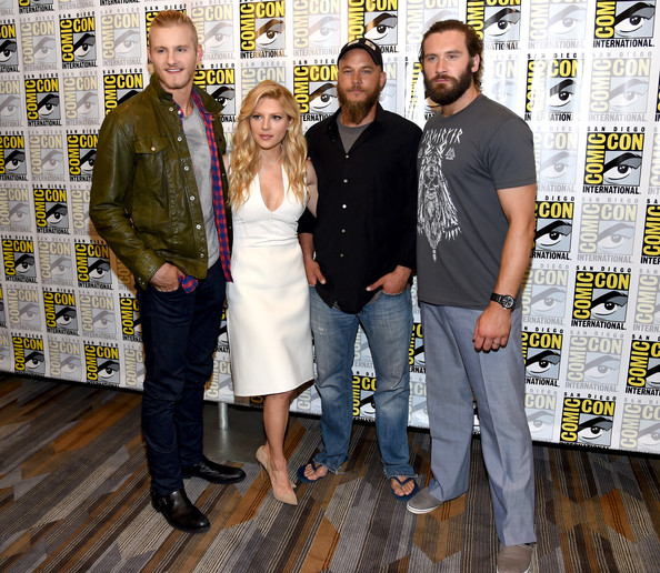 Katheryn Winnick And Clive Standen Photos Photos