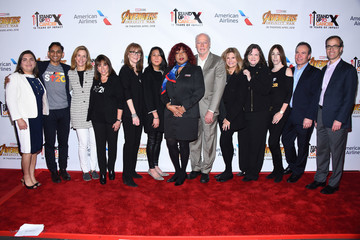 Kathleen Lobb American Airlines, Marvel Studios' 'Avengers: Infinity Wars,' Stand Up To Cancer Unveil Customized American Airlines Aircraft