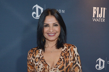 Kathrine Narducci FIJI Water at the Weinstein Company's Pre-Oscar Dinner