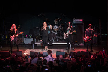 Kathy Valentine The Go-Go's Perform at Private Concert Event in Celebration of Broadway's New Musical 'Head Over Heels'