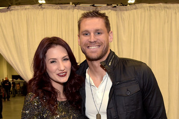 Katie Armiger Backstage at the American Country Countdown Awards