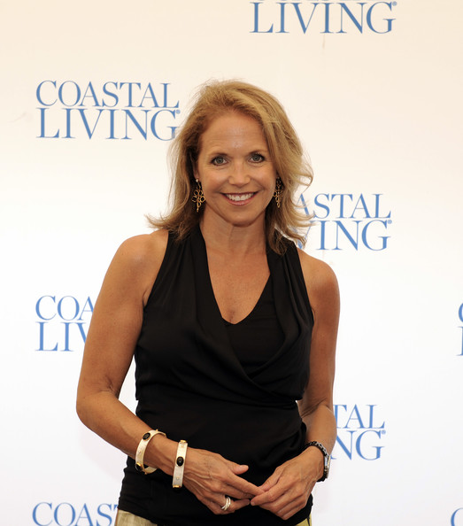 Katie Couric Katie Couric attends the 2012 Boston Pops reception and