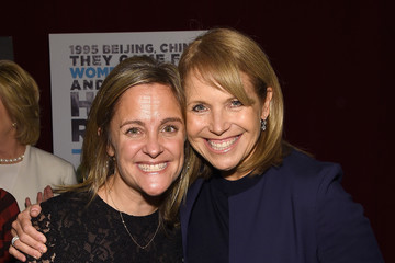 Katie Couric Dyllan McGee AOL's MAKERS: Once And For All Premiere