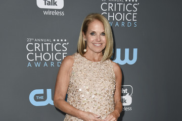 Katie Couric The 23rd Annual Critics' Choice Awards - Press Room