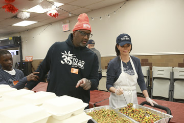 Katie Lee Food Bank For New York City Done In A Day For MLK Presented By Barilla