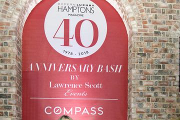 Katie Lee Hamptons Magazine 40th Anniversary Bash By Lawrence Scott Events Presented By Compass