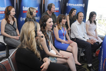 Katie O'brien Caitlin Barlow SiriusXM's Entertainment Weekly Radio Channel Broadcasts From Comic-Con 2015