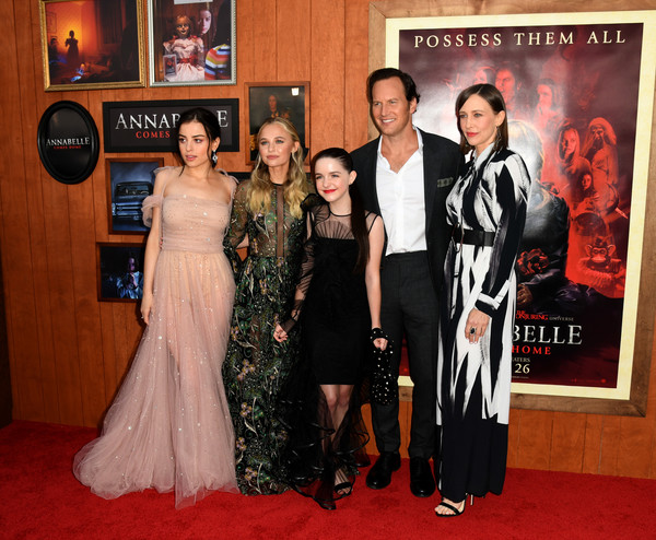Premiere Of Warner Bros' 'Annabelle Comes Home' - Red Carpet