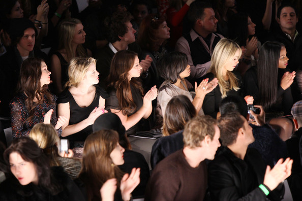 BCBGMaxAzria - Front Row - Fall 2011 Mercedes-Benz Fashion Week