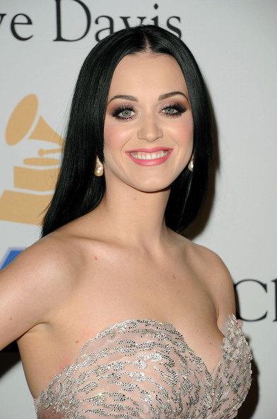 Katy Perry Singer Katy Perry aka Katy Brand arrives at the 2011 Pre-GRAMMY Gala and Salute To Industry Icons Honoring David Geffen at Beverly Hilton on February 12, 2011 in Beverly Hills, California.