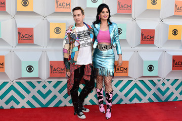Katy Perry Jeremy Scott 51st Academy of Country Music Awards - Arrivals