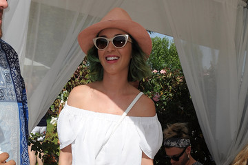 Katy Perry Moet & Chandon Ice Imperial Debuts At The Lacoste Beautiful Desert Pool Party