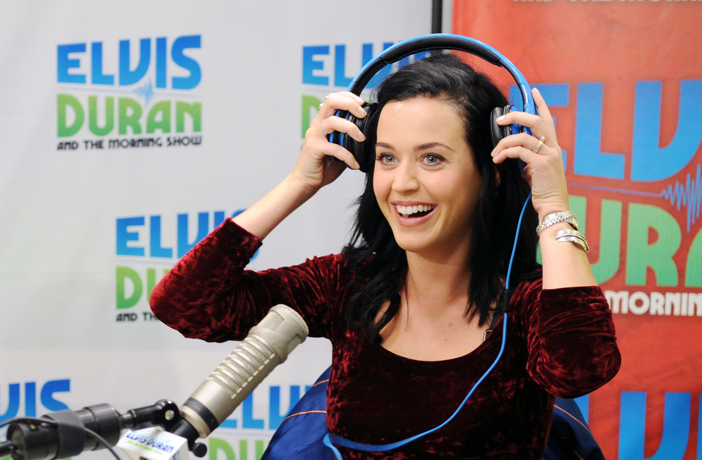 Katy Perry Visits A Radio Morning Show Zimbio