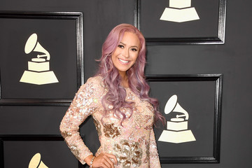 Kaya Jones The 59th GRAMMY Awards - Arrivals