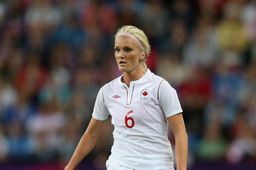 Kaylyn Kyle Olympics Day 7 - Women's Football Q/F - Match 22 - Great Britain v Canada