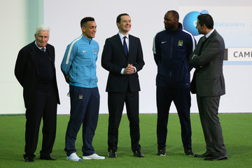 Kean Bryan Official Launch of the Manchester City Football Academy