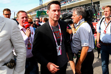 Keanu Reeves F1 Grand Prix of USA