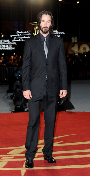 Keanu Reeves Actor Keanu Reeves attends the Tribute to the French Cinema during the 10 th Marrakech Film Festival on December 4, 2010 in Marrakech, Morocco.