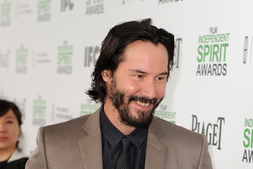 Keanu Reeves 2014 Film Independent Spirit Awards - Red Carpet