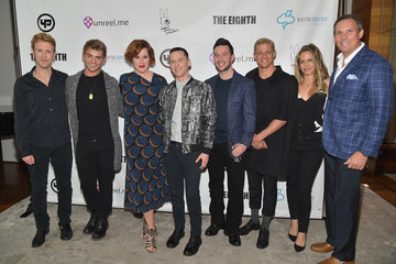 Keegan Allen 'King Cobra' Cast Dinner Hosted By Yale Productions and Digital Ignition Entertainment