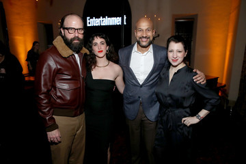 Keegan-Michael Key Brett Gelman Entertainment Weekly Celebrates Screen Actors Guild Award Nominees at Chateau Marmont - Inside