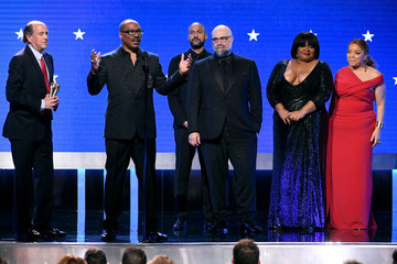 Keegan-Michael Key Da' Vine Joy Randolph 25th Annual Critics' Choice Awards - Show