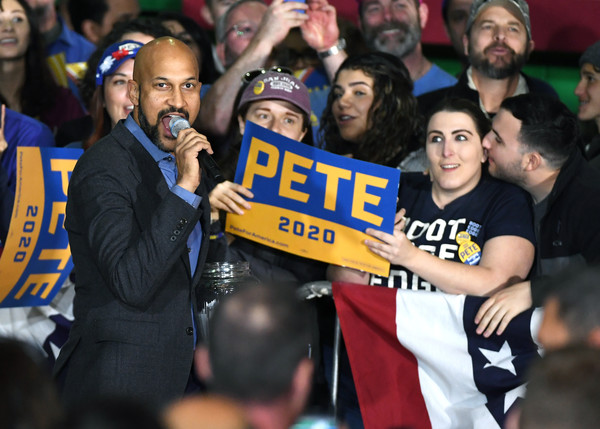 Presidential Candidate Pete Buttigieg Holds Campaign Rally In Las Vegas