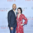 """Keegan-Michael Key PARAMOUNT PICTURES PRESENTS THE WORLD PREMIERE OF """"A QUIET PLACE PART II"""""""