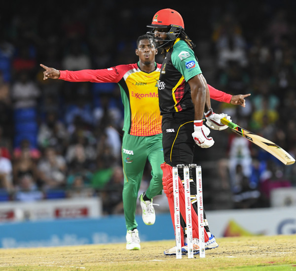 St Kitts & Nevis Patriots vs. Guyana Amazon Warriors - 2018 Hero Caribbean Premier League (CPL) Tournament