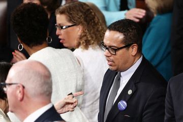 Keith Ellison Donald Trump Delivers Address to Joint Session of Congress