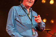 Billy Joe Shaver performs during Keith Urban's Fourth annual We're All For The Hall benefit concert at Bridgestone Arena on April 16, 2013 in Nashville, Tennessee.