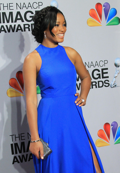 Keke Palmer - 44th NAACP Image Awards - Press Room