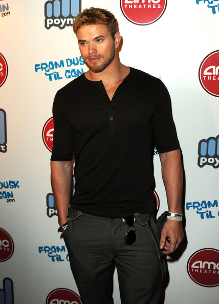 "Kellan Lutz Actor Kellan Lutz attends the 2nd Annual ""From Dusk 'Til Con"" Party at Stingaree on July 22, 2011 in San Diego, California."