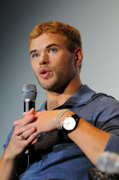 Kellan Lutz Actor Kellan Lutz attends the DVD and merchandise presentation of Twilight Eclipse at the Hotel Melia during the 43rd Sitges Film Festival on October 9, 2010 in Sitges, Spain.
