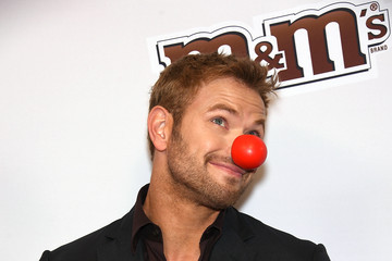 Kellan Lutz Red Nose Day Charity Event