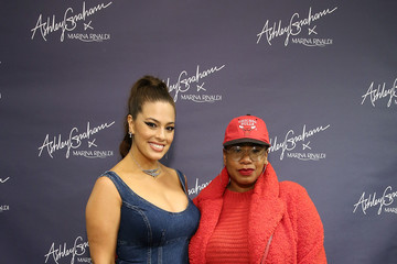 Kelly Augustine Ashley Graham x Marina Rinaldi SS18 Denim Capsule Collection Launch