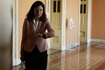 Kelly Ayotte  Senate Republicans and Democrats Hold Their Weekly Policy Luncheons