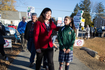 Kelly Ayotte  Nation Goes To The Polls In Contentious Presidential Election Between Hillary Clinton And Donald Trump
