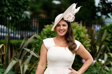 Kelly Brook Royal Ascot 2017 - Day 5