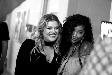 Kelly Clarkson 2018 iHeartRadio Music Festival -  Night 2 – Backstage
