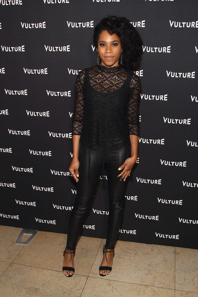 Vulture Awards Season Party [season,clothing,shoulder,dress,fashion,leggings,footwear,joint,leather,fashion design,fashion model,kelly mccreary,vulture awards,sunset tower hotel,west hollywood,california,party,vulture awards season]