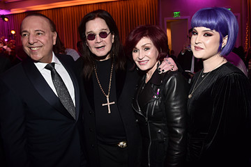 """Kelly Osbourne Sharon Osbourne Pre-GRAMMY Gala and GRAMMY Salute to Industry Icons Honoring Sean """"Diddy"""" Combs - Inside"""