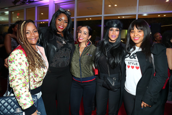 "BET's ""American Soul"" Los Angeles Premiere [event,fashion,fun,party,fashion design,leisure,performance,guest,sheree zampino,simone smith,kelly price,mechelle mccain,american soul,l-r,los angeles,bet,premiere]"