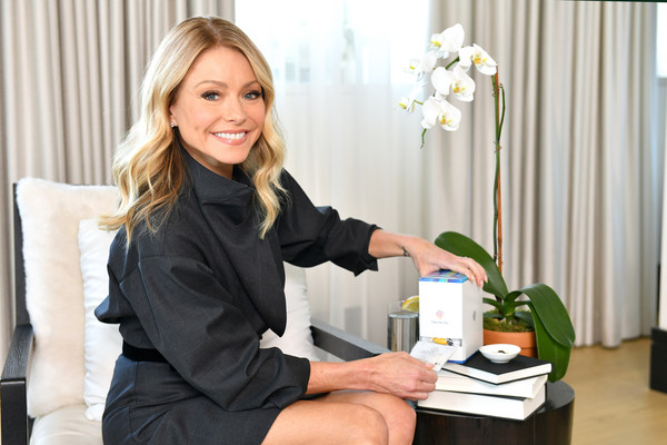 Kelly Ripa Announces New Role As Persona™ Nutrition's Celebrity Brand Ambassador [skin,job,employment,businessperson,white-collar worker,sitting,plant,long hair,interior design,office,persona\u00e2,kelly ripa announces new role as personatm nutrition,new york city,celebrity brand ambassador,kelly ripa announces new role,nutritions celebrity brand ambassador,professional,white-collar worker,businessperson,job,business,secretary,collar,blue-collar worker,laborer]