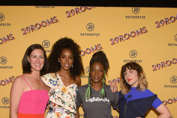Kelly Rowland Refinery29's 29Rooms Chicago: Turn It Into Art Opening Party 2018