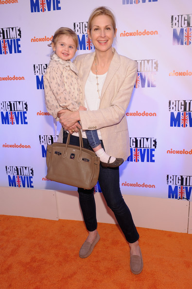 "Kelly Rutherford Actress Kelly Rutherford attends Nickelodeon Hosts Orange Carpet Premiere For Original TV Movie ""Big Time Movie"" Starring Big Time Rush at 583 Park Avenue on March 8, 2012 in New York City."