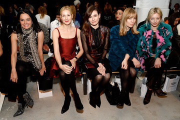 Kelly Rutherford Front Row at J. Mendel