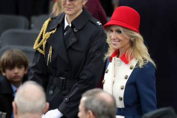 Kellyanne Conway Donald Trump Is Sworn In As 45th President Of The United States