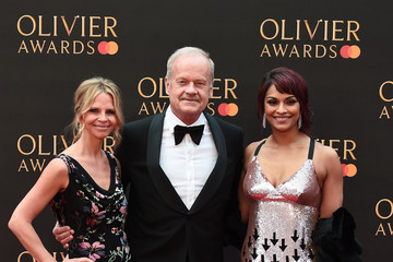 Kelsey Grammer Kayte Walsh The Olivier Awards 2019 With MasterCard - Red Carpet Arrivals